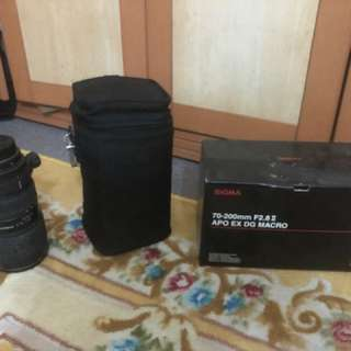 SIGMA 70-200 F/2.8 II APO EX DG (NIKON MOUNT)