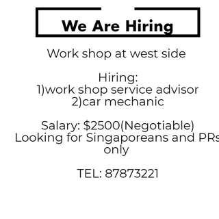 Mechanic & Service Advisor