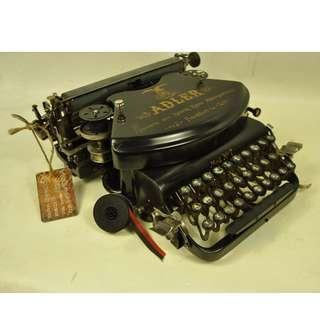 1911年 ADLER MOD No. 7 古董打字機 德國製