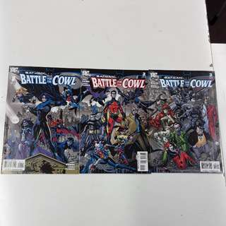 Batman Battle for the Cowl (2009 DC) Comics Set