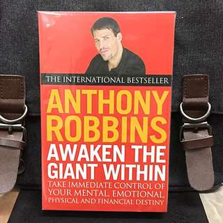 《Bran-New + How To Clarify Personal Values, Resolve Internal Conflicts, Master Emotions, And Overcome Debilitating Habits》Anthony Robbins - AWAKEN THE GIANT WITHIN : How To Take Immediate Control of Your Mental, Emotional, Physical and Financial Destiny