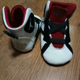 Jordan Baby Shoes (0-3months)