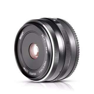 Meike 28mm F2.8 Manual Prime Lens Canon EF M EOS M1 M2 M3 M5 M10 etc