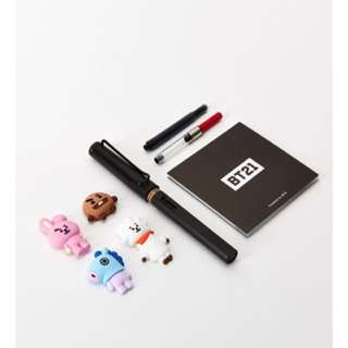 [Preloved] BT21 Limited Edition LAMY set