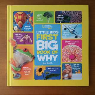 National Geographical Little Kids First Book Book of Why