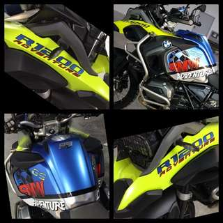 Decal and sticker wrapping design services