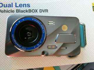 Dash camera dual super hd