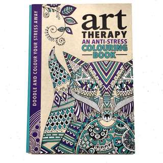 Art Therapy: An Anti-Stress Colouring Book