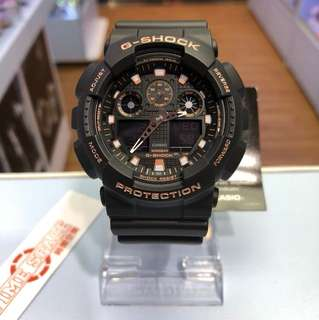 CASIO G-SHOCK GA-100GBX-1A4