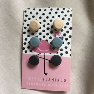 She Flamingo Earrings
