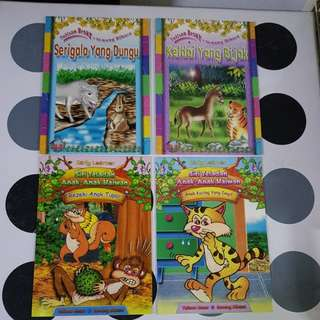 Malay children's story books (4titles)