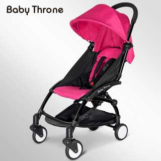 PINK Original Baby Throne CLASSIC Stroller