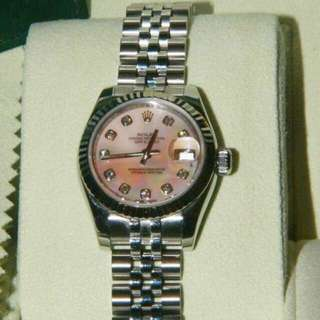 Rolex datejust - shell face