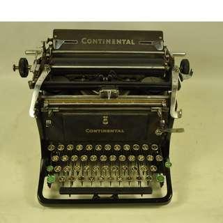 CONTINENTAL 古董打字機  德國製