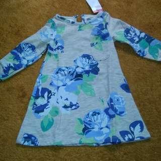 Dress anak 1-2 tahun