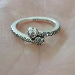 Pandora Forever Hearts ring - size 50