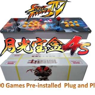 Arcade games joystick kof king of fighters street fighter metal slug
