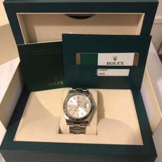 Bnew Rolex Datejust 41mm White Gold