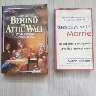 Behind the attic wall, Tuesdays with Morrie
