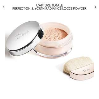 DIOR CAPTURE TOTALE PERFECTION & YOUTH RADIANCE LOOSE POWDER