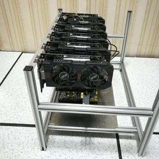 Mining Rig 4GPU GTX 1070 Miner