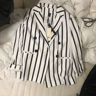 Topshop blazer size us 4 with tag