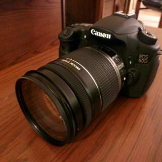 Canon 60D with 18-200 lens