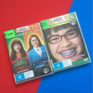 Ugly Betty DVD Season 1 & 4. Region 4 (shipping included)