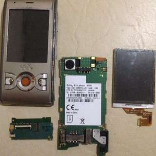 Sony Ericsson W595 Boards and LCD all for P300