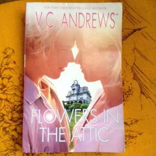 Young Adult book: FLOWERS IN THE ATTIC