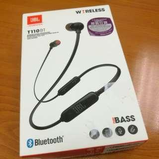 JBL T110 藍牙耳機 全新