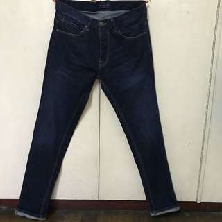 ZARA MAN Slim fitted denim pants