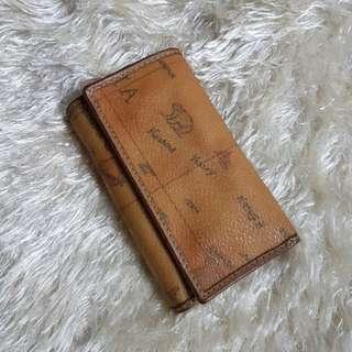 Authetic Alviero Martini (Ancient Sailing Map)Key Holder Wallet