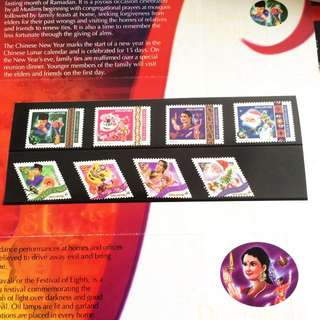 Festivals Stamps Issue 2000