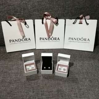 Valentine's Gift Pandora Earrings