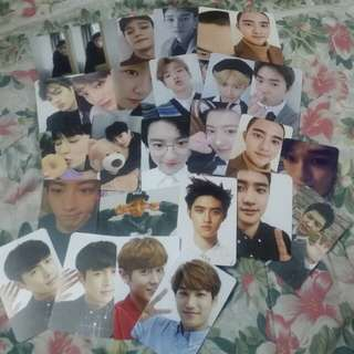 [ARRIVAL] EXO OFFICIAL PHOTOCARDS & WANNA ONE LIGHTSTICK