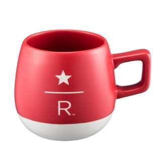 星巴克 starbucks 8OZ RED 紅色 經典 咖啡杯 馬克杯