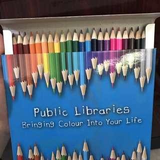 Colour Pencil Set 24 Colours