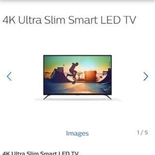 Philips 43inch 4K Ultra Slim Smart LED TV with Pixel Plus Ultra HD