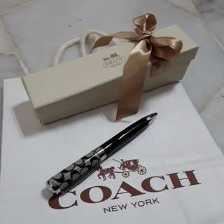 100% Authentic coach Pen