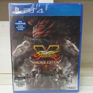 PS4 Street Fighter V Arcade Edition R3