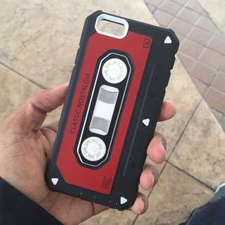 iPhone 6/6s mobile phone case cassette style