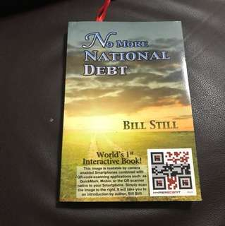 No more national debt book by Bill Still