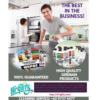 Hi-Glitz Cleaning Services and Cleaning Products
