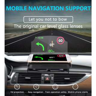Car Dashboard Head Up Display HUD - 車載平視顯示器 - S1704