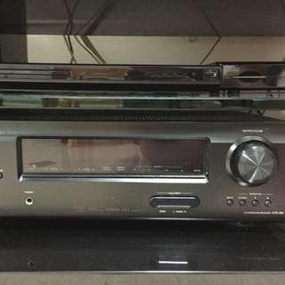 Denon AVR390 sound system