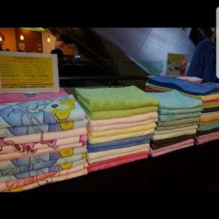 Bamboo charcoal nano towel