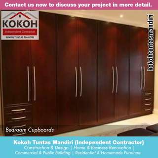 Bedroom Cupboards KF-WR15 [Made To Order] Yogyakarta