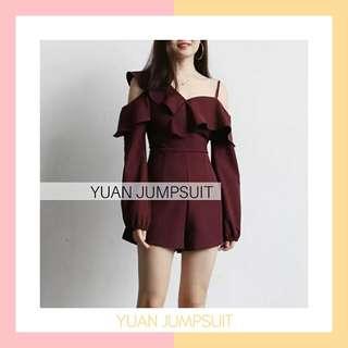 YUAN JUMPSUIT GOOD QUALITY IMPORT HK