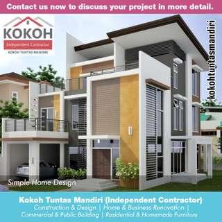 Simple Home Design KTM-HD02 [Made To Order] Yogyakarta